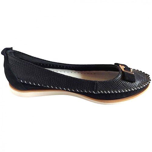 NESSI Fekete balerina cipő