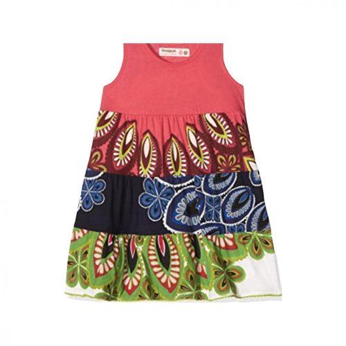 Desigual színes könnyű ruha(5-6 év/110-116 cm)