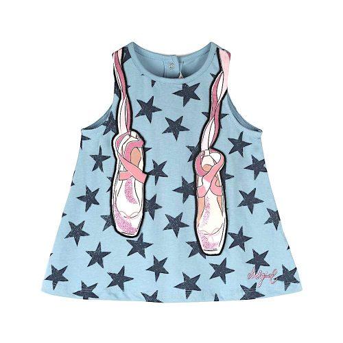 Desigual kislány ujjatlan ruha (3 hó/62 cm-18 hó/80 cm)