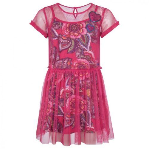 Desigual 2 részes lányka ruha (13-14 év /158-164 cm)