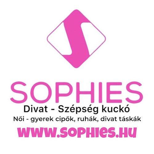 Nessi fekete ezüst szegecses sneaker