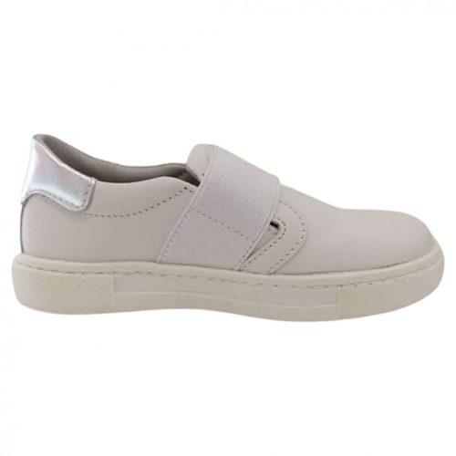 Asso fehér/ezüst lány cipő