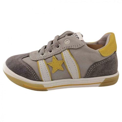 Asso szürke sárga csillagos fiú cipő(25-30)