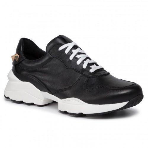 Karino fekete szegecses sneaker (36-40)