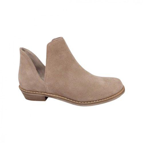 Karino barna velúrbőr cipő (36-39)