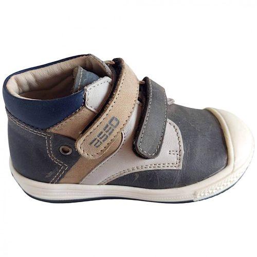 Asso kisfiú cipő szürke/fehér(21-24)