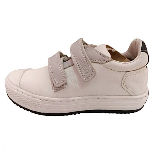 Asso Omero fehér fiú/lány bőr cipő