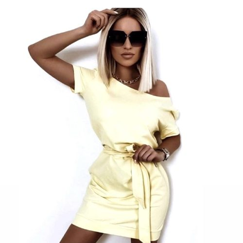 Flawless sárga pamut ruha