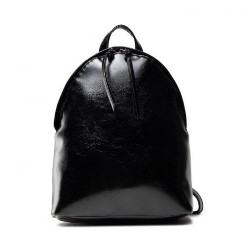 Fekete NOBO-fehér feliratos hátizsák