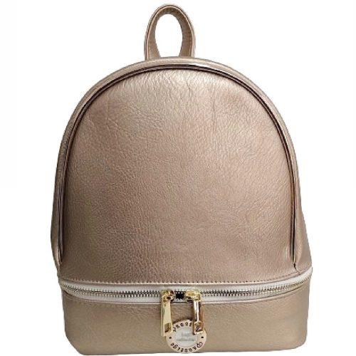 Prestige kisméretű arany Női rostbőr hátizsák