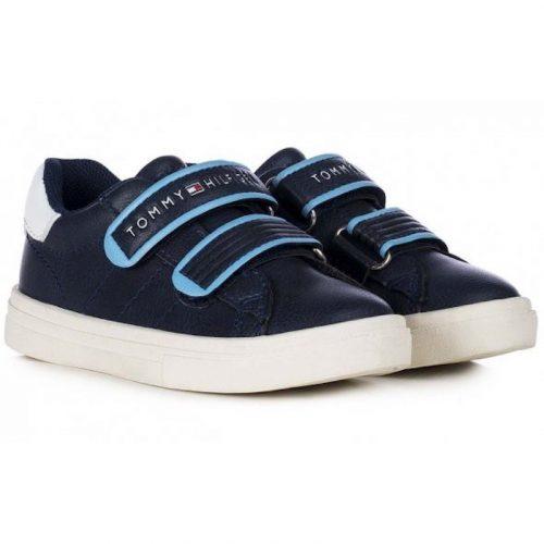Tommy Hilfiger kék tépőzáras sneaker (20-29)