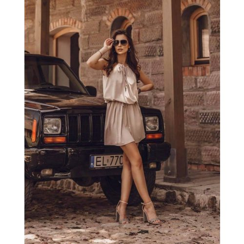 Ola Voga bézs nyári ruha (One size)