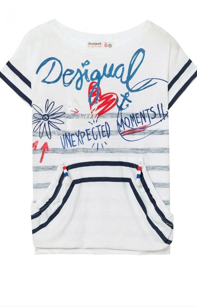 Desigual tengerész stílusú póló
